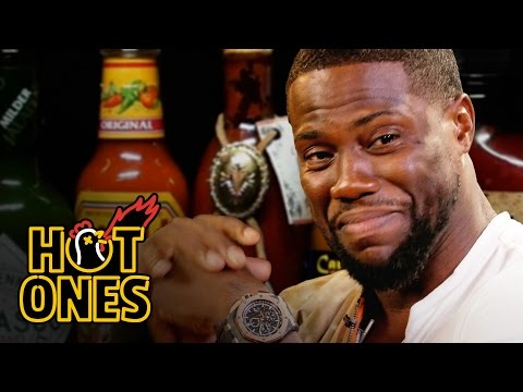 Xxx Mp4 Kevin Hart Catches A High Eating Spicy Wings Hot Ones 3gp Sex
