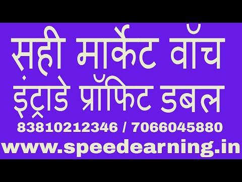 HOW to create best market watch for fastest profit - Intraday online trading in stock market HINDI