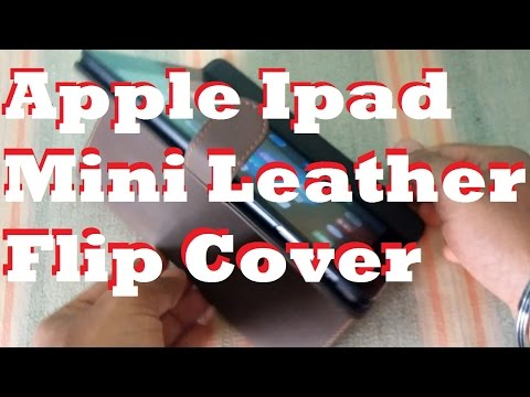 Awesome Apple iPad Mini Leather Flip Cover