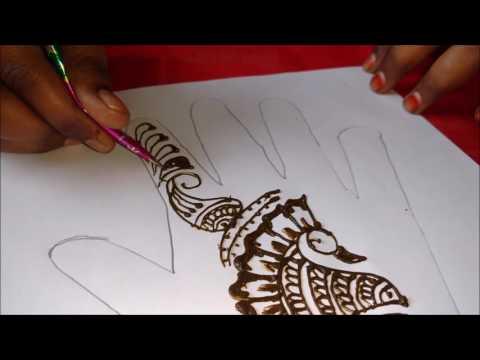 simple and easy henna hand designs | mehndi lagane ka tarika | TimesNow BreakingNews