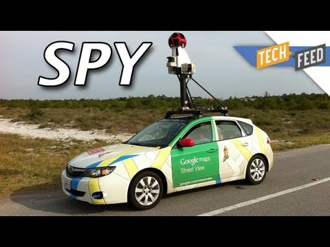 Google Street View Cars Collecting Your PRIVATE Data?