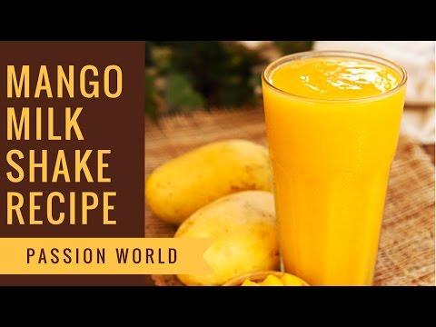 Mango Milkshake Recipe | How to make Mango Smoothie at Home