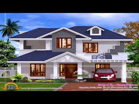 Tile Roof House Designs In Kerala