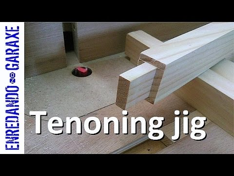 How to make a router table tenoning jig