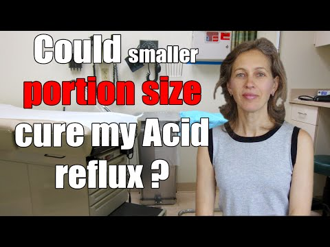 Could smaller portion size cure my Acid reflux / GERD / Heartburn?