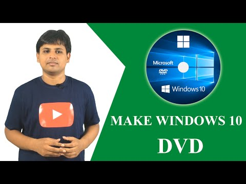 Make Window 10 Bootable DVD Easily (How To)
