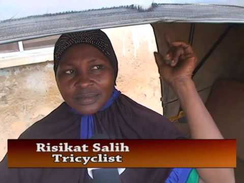 Female Keke NAPEP Operator In Ilorin