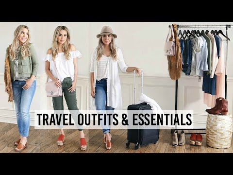 SUMMER TRAVEL OUTFITS + PACKING ESSENTIALS | ALEXANDREA GARZA