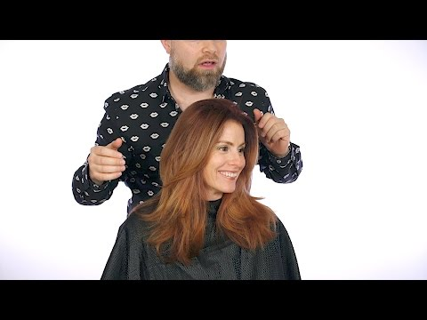 The Sexiest Layered Haircut - TheSalonGuy