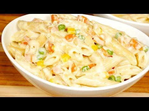 Creamy Vegetable Pasta Recipe