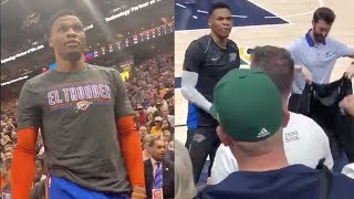 Utah Jazz Give LIFETIME BAN To 2nd Fan For Racist Behavior Against Russell Westbrook!