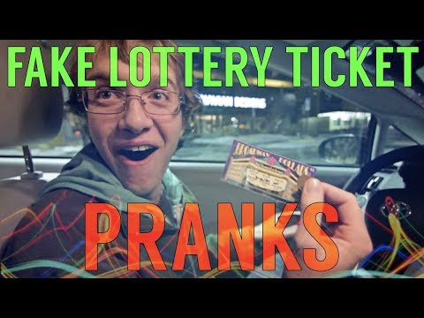 😆Fake Lottery Ticket Prank Compilation 😆