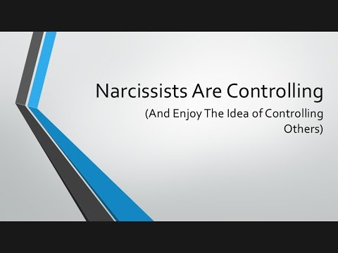 Narcissists Are Controlling (And Enjoy The Idea of Controlling Others)