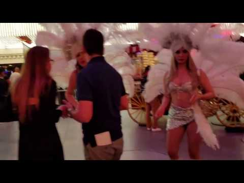 Fremont Street Las Vegas crazies July 2016