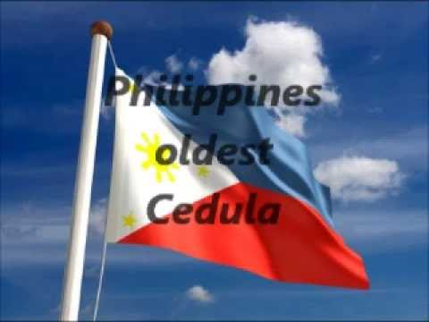 Oldest cedula over 100 years old