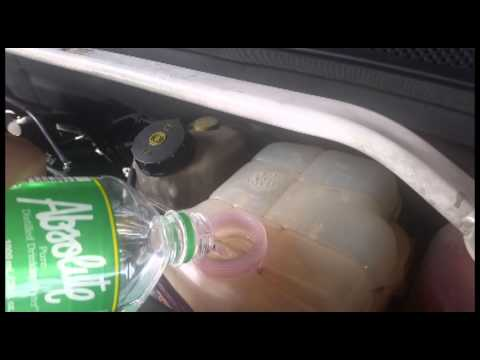 DIY Chevrolet Cruze flush coolant and change coolant/surge tank