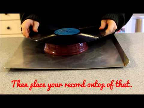 How to Make Records into Bowls