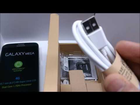 Samsung Galaxy Mega 6.3 i9205 LTE Unlocked Smartphone www.popularelect.com - Unboxing