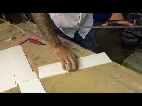 Cover strip cutting