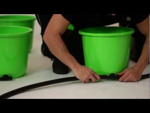 Oxygen Pot Systems - NEW Grow System - Super Flow Ebb and Flow Bucket System
