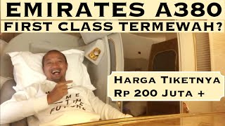 EMIRATES A380 FIRST CLASS ke Dubai, Dapat Tiket GRATIS! |VLOG #33