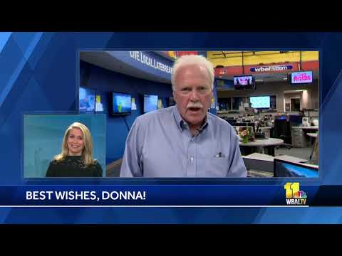 Rob Roblin shares best wishes with Donna