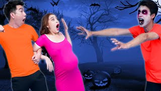 Pregnant VS Zombie | Useful Zombie Life Hacks For Emergencies | Pregnancy Situations Hacks & Tips