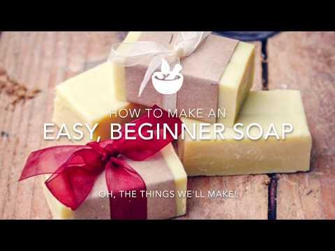 Easy, Basic Beginner Soap