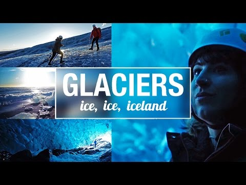 ICELAND 🇮🇸   Day 5 - Glacier Hike, Glacier Lagoon and Ice Cave Tour 🙌🏻
