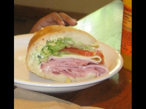 Italian Submarine Sandwich  -  Video  173