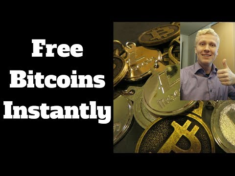 How to Get Free Bitcoins Instantly? Watch SIMPLE STEPS!