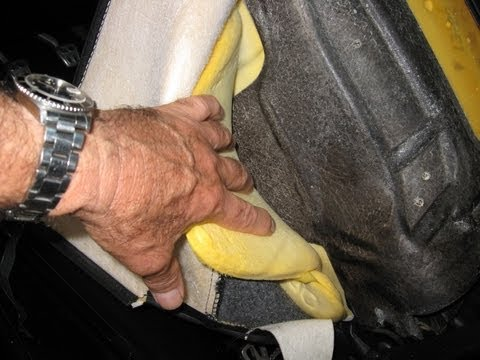 Corvette seat side bolster foam adjustment by froggy lack of support