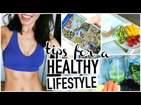 TIPS FOR STARTING A HEALTHY LIFESTYLE! How To Be Healthy!