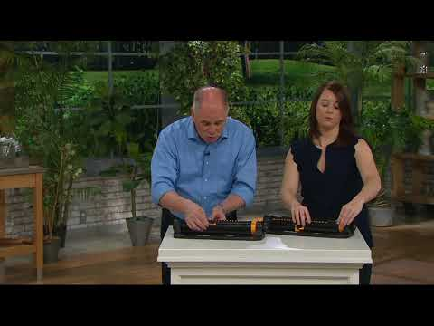 Melnor Infinity Drive Oscillating Sprinkler on QVC
