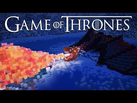 Minecraft: Game of Thrones - Ice Lake Battle + Drogon