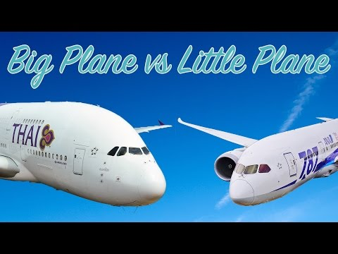 Big Plane vs Little Plane (The Economics of Long-Haul Flights)