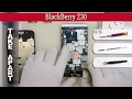 How to disassemble 📱 BlackBerry Z30 Take apart Tutorial