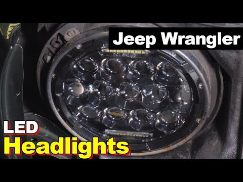1997-2007 Jeep Wrangler JK LED Headlights and Fog Lights
