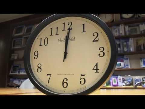 How To Setup an Analog Atomic Wall Clock