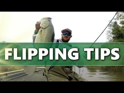 FLIPPING Soft Plastics - Bass Fishing TIPS