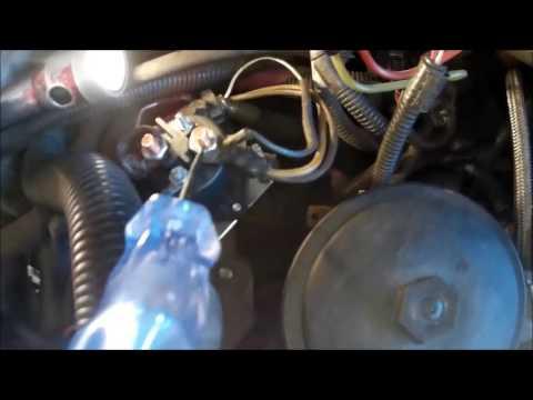 Ford glow plug relay test