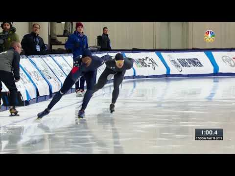 Olympic Long Track Speedskating Trials | Shani Davis And Joey Mantia Punch Tickets To PyeongChang