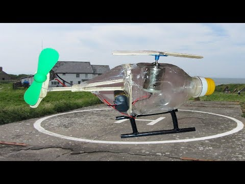 How To Make Helicopter At Home