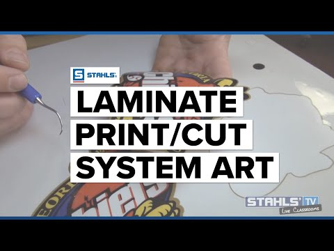 Adding Lamination to Your Print and Cut Workflow
