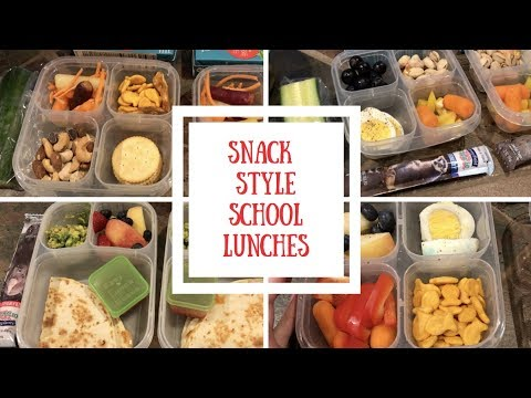 Snack Style School Lunches + container giveaway