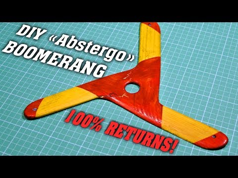 DIY Abstergo boomerang!