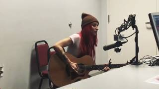 Lights Giants Live (acoustic) HD : new song from skin&earth