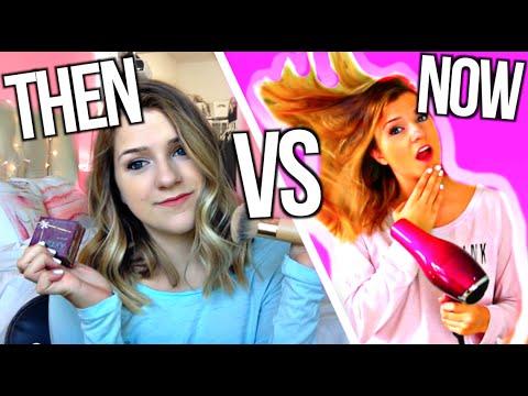 YouTube Beauty Gurus Then VS Now
