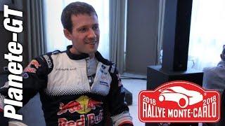Interview Sebastien Ogier [Rallye Monte Carlo 2018]
