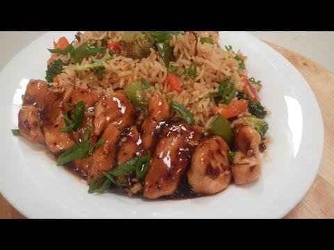 Honey Chilli Chicken Rice | Sanjeev Kapoor Khazana